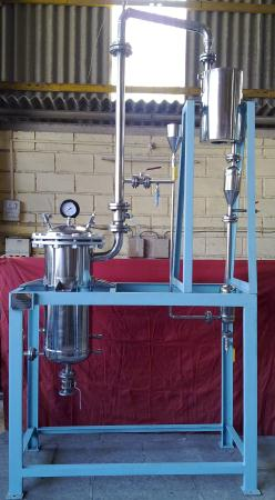 Pilot Steam Distillation