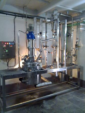 R & D Pilot Reaction Plant